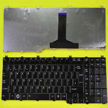 New United Kingdom UK laptop Replacement keyboard for TOSHIBA Satellite A500 F501 P505 GLOSSY