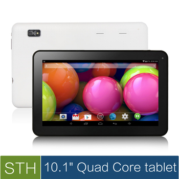 """Горячая 10.1 """" а33 четырехъядерный планшет шт, андроид 4.4 четырехъядерный планшет пк с Bluetooth и емкостный стилус, fm, двойная камера ( 8 ГБ / 16 ГБ )"""