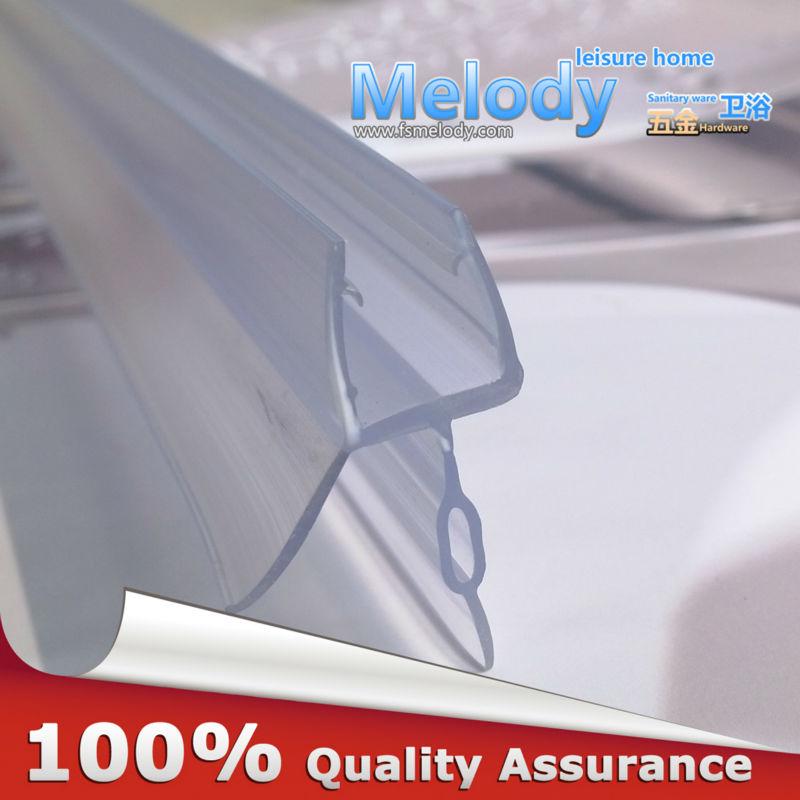 Me-309d2 Bath Shower Screen Rubber Big Seals waterproof strips glass door seals length:850mm Gap:10-17mm(China (Mainland))