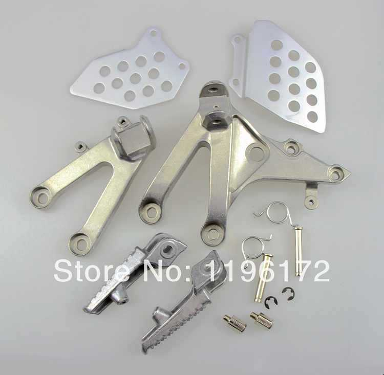 Front Rider Footrest Foot Pegs set Honda CBR600 RR 07 08 09 10 11 2007 2008 2009 2010 2011 - Guangzhou EPS Electronic Commerce Firm store