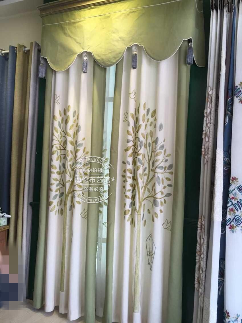 popular light green curtains buy cheap light green