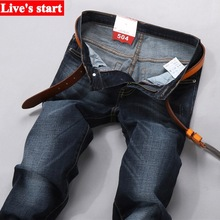 New 2016 famous brand men jeans  Summer thin stretch slim Metrosexual youth jeans  man trousers pants  jeans for men Y320(China (Mainland))