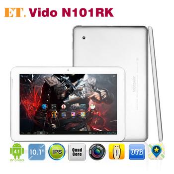 Vido N101RK RK3188 Quad Core 10.1 inch Tablet PC IPS Screen Dual Speaker 1GB 16GB Dual Camera HDMI