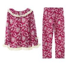 Song Riel autumn and winter cotton pajamas cute and pretty comfortable long sleeved men and women