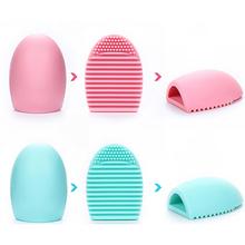 New 1pcs Original Silicone Brushegg Cosmetic Makeup Brush Cleaner Brushegg Makeup Brush Cleaner Clean Tool