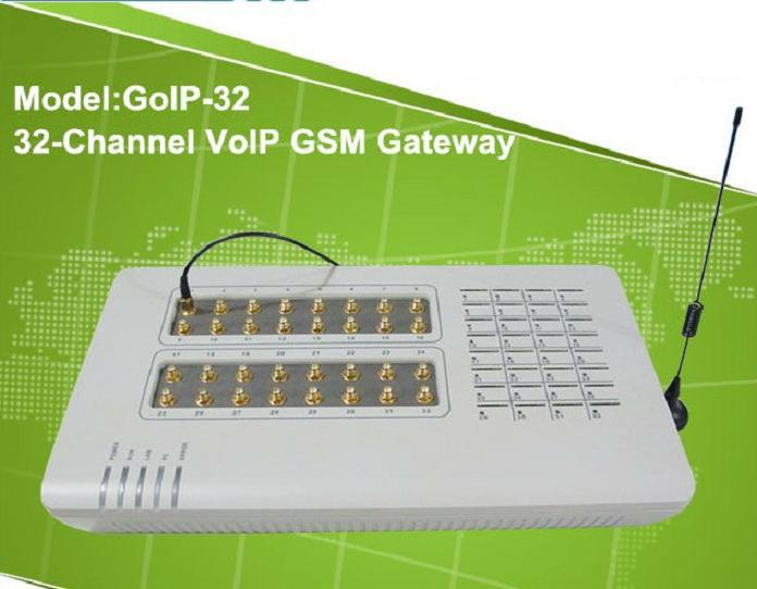 GoIP - 32 port VoIP GSM Gateway SIP&H.323 based, compatible with Asterisk, Trixbox, 3CX, SIP Proxy Server, VoipBuster, ip phone(China (Mainland))