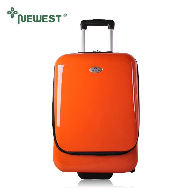 """Free shipping Newest flip-open cover trolley luggage chek box ABS+PC luggage fashion personalized travel bag suitcase 20""""(China (Mainland))"""