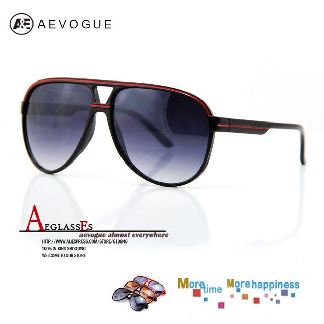 Aevogue ретро пластик солнечные очки мужчины очки линия украшение очки UV400 CE DT0062