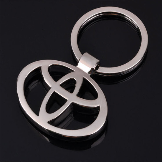 Metal 3D TOYOTA Car Keychain Keyring For Auto Key Chain Ring YOWO(China (Mainland))