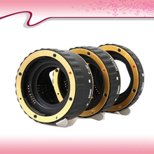 Горячий золото аф макро-объектив удлинитель кольцо для EF-S T5i T4i T3i T2i T1i 100D 60D гб-70d 550D 600D 6D 7D объектива