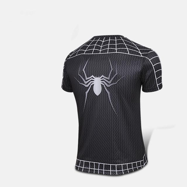 T-shirt Superman Batman Spider Man Captain America  Hulk Iron Man T Shirt Men Fitness Shirts Men T Shirts