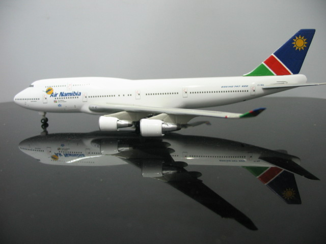Out of print Factory 1: 400 Air Namibia Boeing 747-400 V5-NMA Alloy aircraft model Favorites Model<br><br>Aliexpress