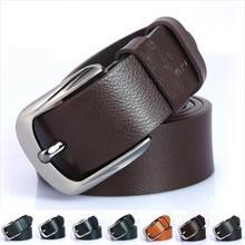 New Belts for Men Best 2015 Men's Belt Male Leather Strap Real Leather Belt All-match Belt Men Accessories Fancy Vintage