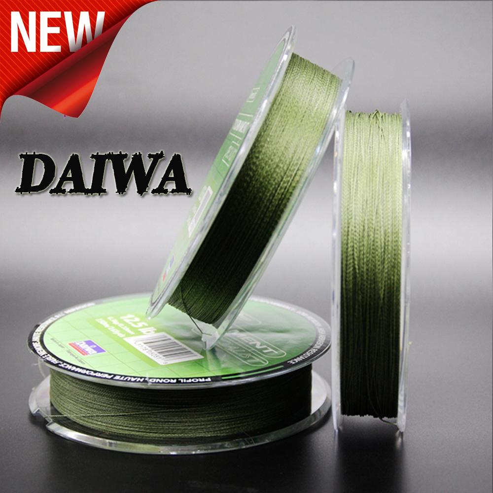Daiwa, 4 плетеная - длина : 150 м / 135yds, Диаметр : 0.1 мм - 0.4 мм, Размер : 6-60lb снасти, Пайк, Карп, Окунь. Мк магазин