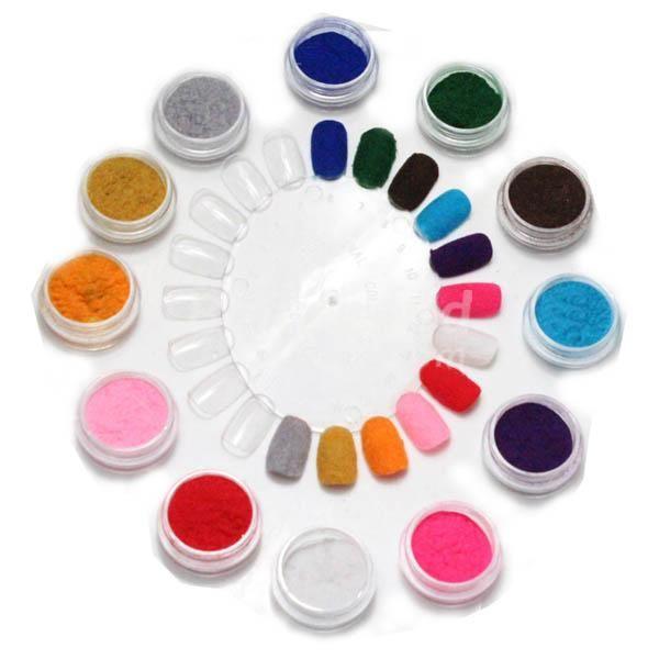 LidaBack New Fashion Candy Color Cashmere Nail Art Polish Varnish 5ml(China (Mainland))