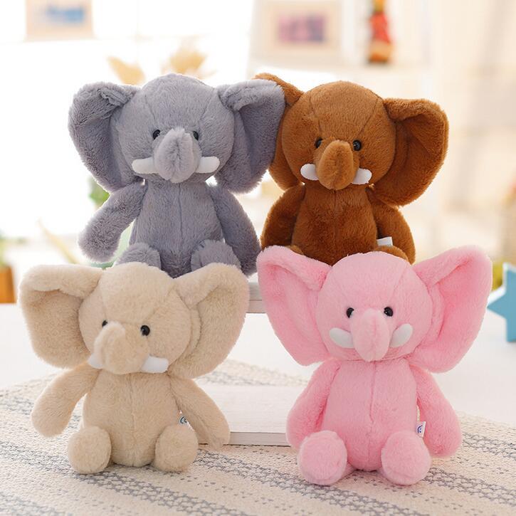 1pcs 20cm Creative Stuffed Animal Bunny Elephant Cartoon Toy Kawaii Anime Toy For Girl Kids toys(China (Mainland))