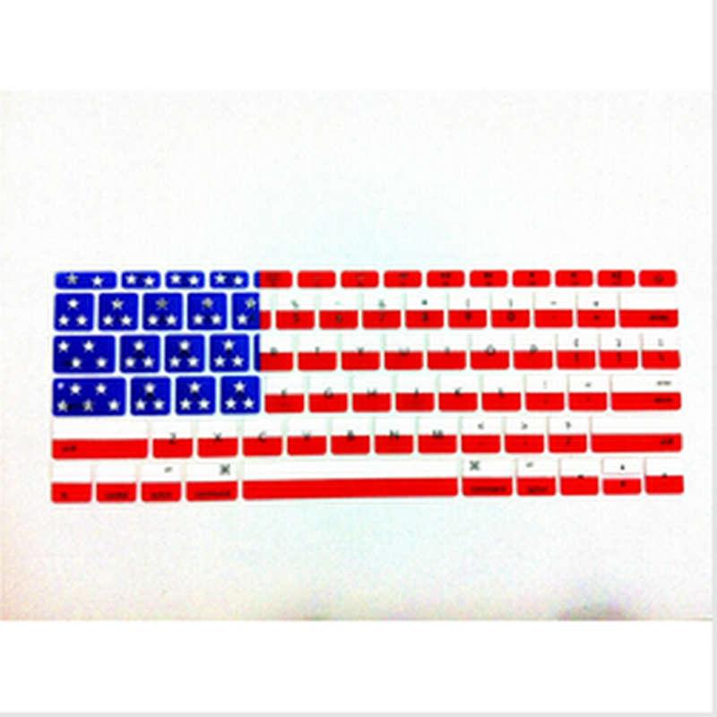USA Flag Silicone font b Laptop b font font b keyboard b font Skin Protector font