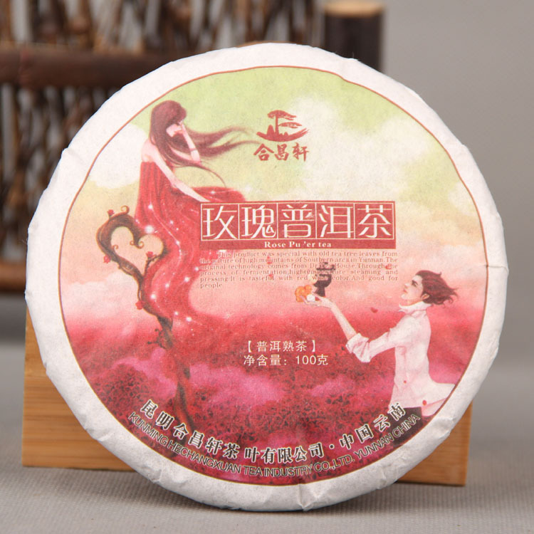 Гаджет  AAAAA rose Puer tea Beauty to raise colour Rose tea Ripe tea chinese tea Food is different from the coffee None Еда