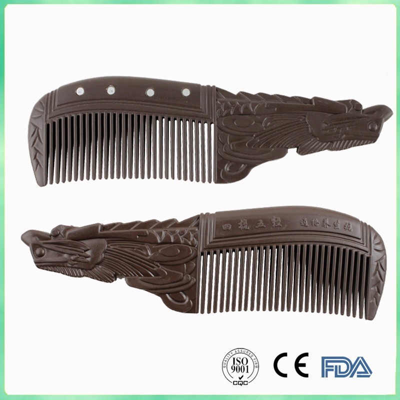 Natural Handmade Super Narrow tourmaline Combs no static,Pocket comb Beard Comb Hair Styling Tool