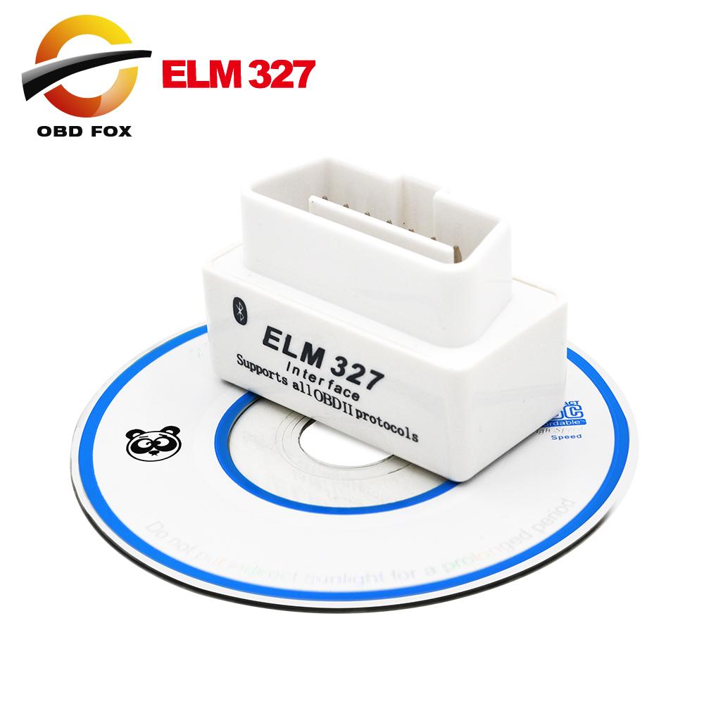 2015 Top selling SUPER MINI ELM327 Bluetooth OBD2 V2.1 White Smart Car Diagnostic Interface ELM 327 Wireless Scan Tool(China (Mainland))