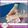 Very Cute Ballet Girls Silicone Feet Mold Foot Fetish Foot Worship Feet Sex Toys For Men