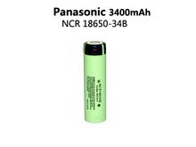 NEW 1 pcs/lot New Original 18650 NCR18650B Rechargeable Li-ion battery 3.7V 3400mAh For Panasonic +Free shipping