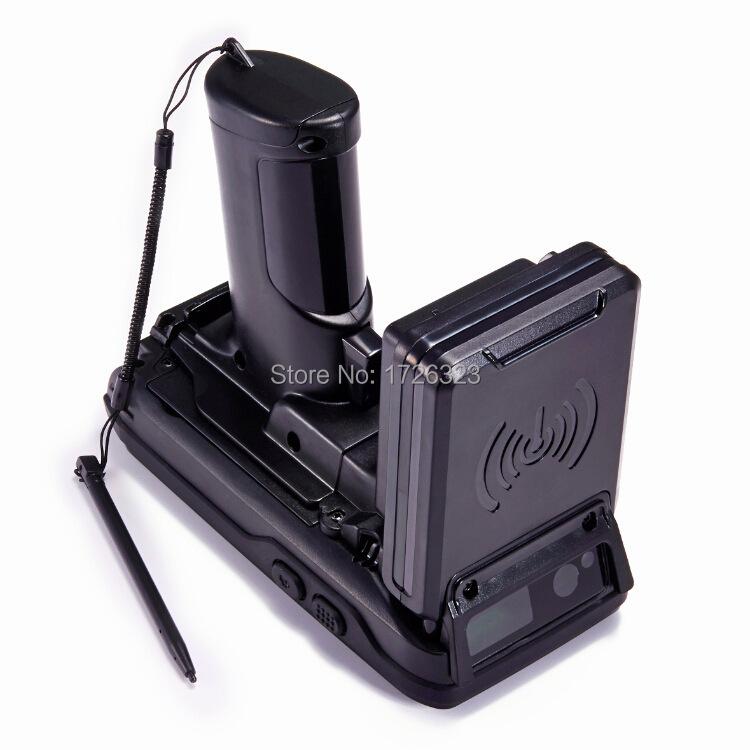 Free Shipping Portable Handheld 860-960MHz Long Range Passive RFID UHF Reader For Tag Reading And Writing(China (Mainland))