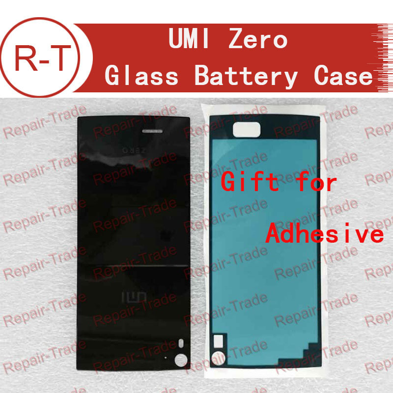 Umi zero battery Case Original Glass Back Shell Battery Cover For Umi zero Mobile Cell Phone with Adhesive +Free shipping(China (Mainland))