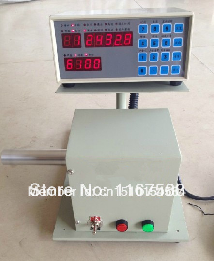 free ship Semi-automatic coil winder winding machine transformer for 0.04-2.0mm wire(China (Mainland))