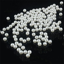 200 piece/lot 5MM DIY White Round Imitation Acrylic Pearl Round Spacer Loose Charms Beads DIY Wholesale Jewelry Makin ly(China (Mainland))