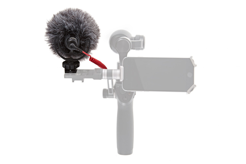 Original DJI Osmo Parts Osmo – RODE VideoMicro On-Camera Hypercardioid Microphone