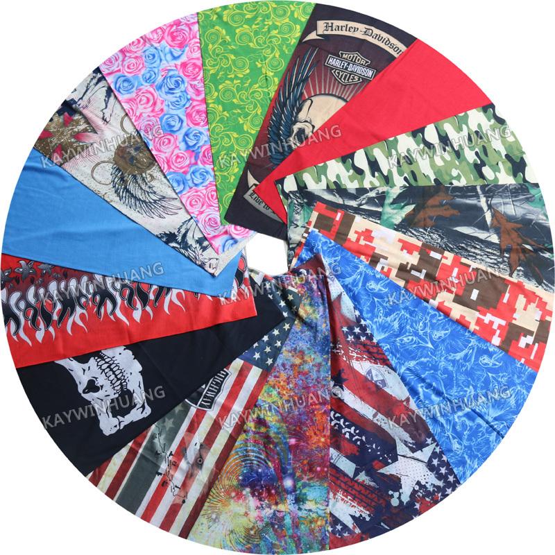 10 шт. смешанный вариант дизайна новый модный различные волшебной шарф открытый велоспорт банданы трубчатые многофункциональный Headwears