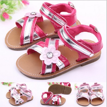 Free Shipping Summer Newborn Baby Girls Kids Prewalker Shoes Pure White Princess Infant Toddler sandals baby girl(China (Mainland))