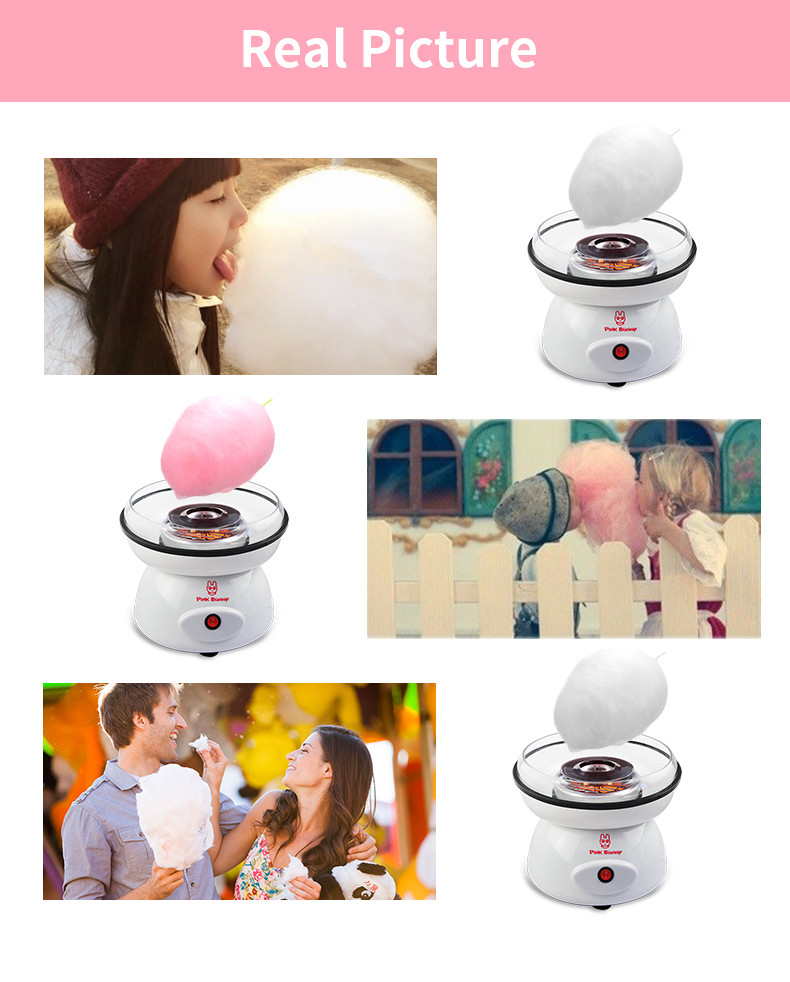 Mini Cotton Candy Maker Food Processors DIY Machine For Cotton Candy Household Easy operating Suikerspin Machine Children Gifts