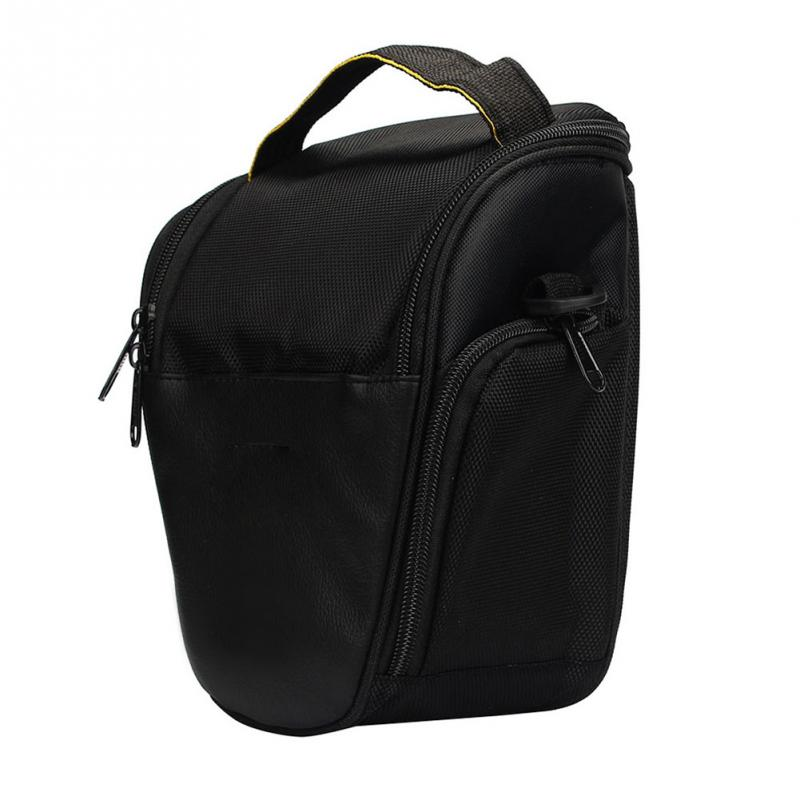 Black SLR Camera Bag Single Shoulder Anti-Shock Camera Storage Bag Nylon SLR Camera Bag(China (Mainland))