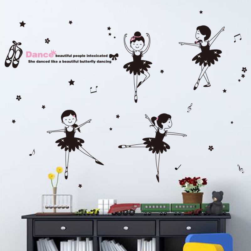 Ballet muur koop goedkope ballet muur loten van chinese ballet muur leveranciers op - Muur kamer meisje ...