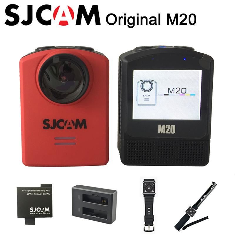 2016 Original SJCAM M20 Wifi Gyro mini Action Sport Camera 2160P HD 16MP sj cam Waterproof DV self timer lever remote control(China (Mainland))