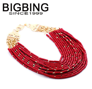 BigBing Fashion jewelry women's luxurious necklace free shipping N380