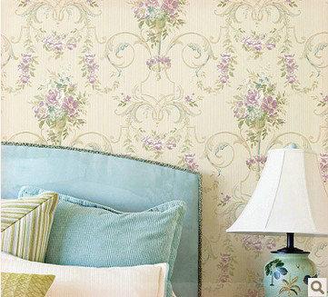 T pancarta papel pintado de la flor americana r stico - La casa del papel pintado ...