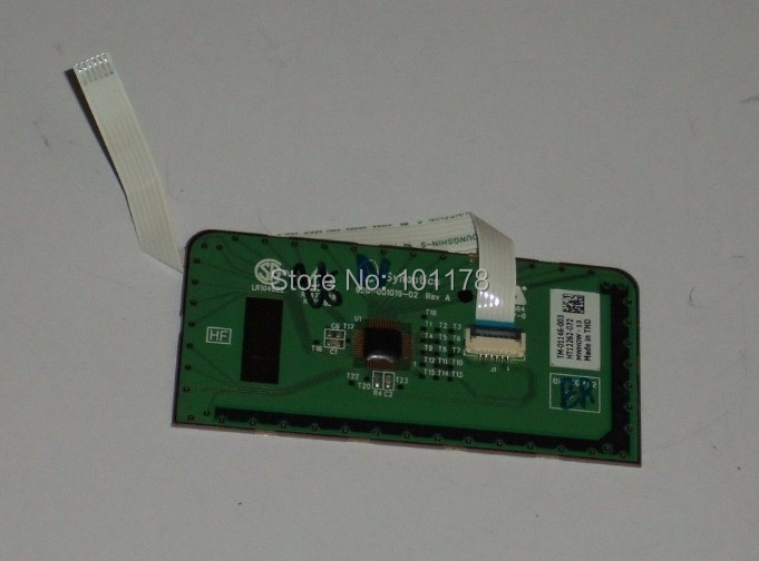 Original Fully tested For Toshiba Satellite C655 Touch Pad Board W/Cable TM-01146-003(China (Mainland))