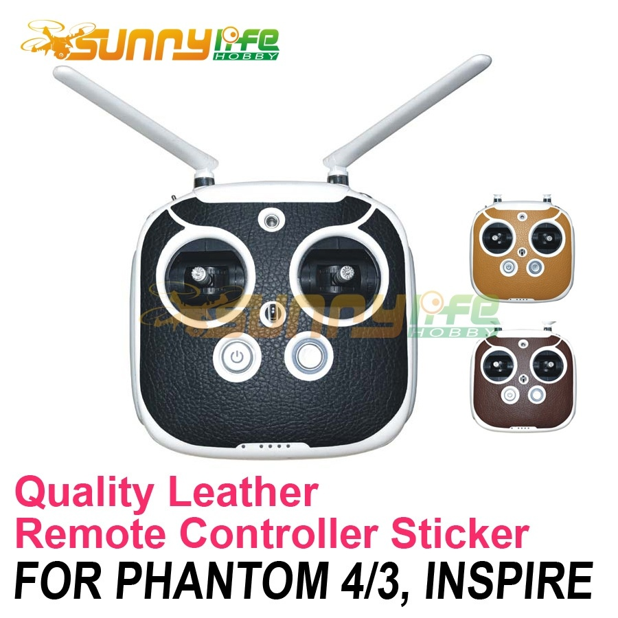 2016 New Remote Controller Stickers Decals Skin Leather Stickers Case for Phantom 4/3 Inspire(China (Mainland))