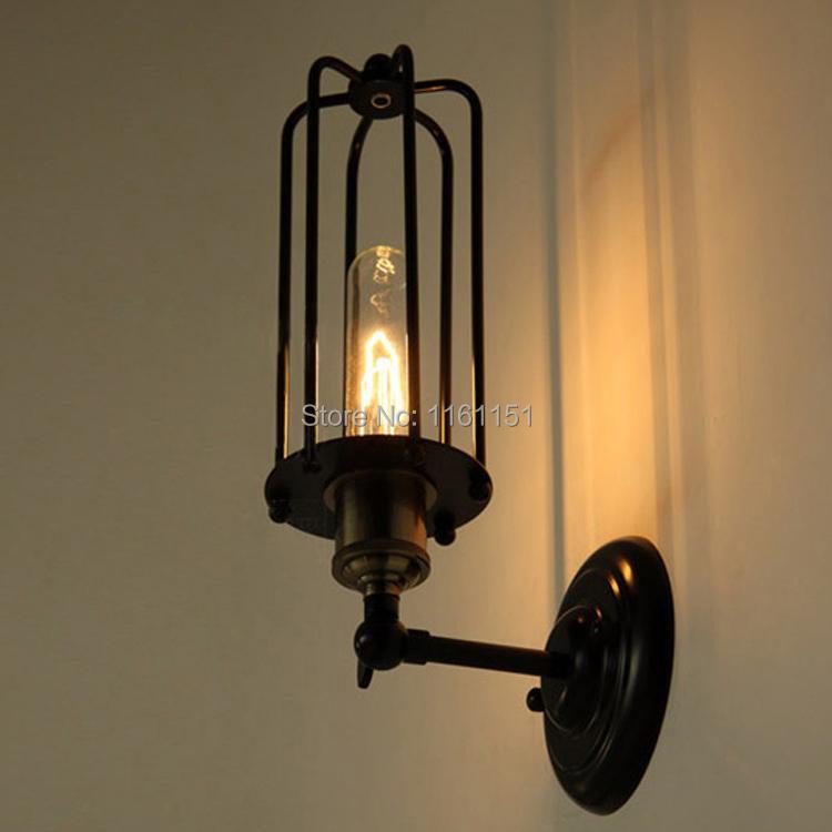 Фотография Free shipping 5011L replica designer Edison industrial vintage wall lamp