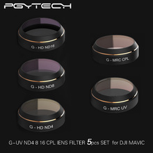PGYTECH Lens Filters for DJI MAVIC Pro Drone G-UV ND4 8 16 32 CPL HD Filter Accessories gimbal Lens Filter Quadcopter parts(China (Mainland))