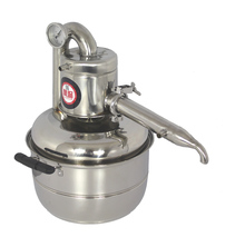 DIY Moonshine Ethanol New Stainless Steel 10 Litre Spirits(alcohol) Distillation Home Brewing equipment(China (Mainland))