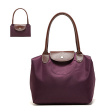 Fashion 6 Color Foldable Tote Reusable Bags Women Shopping Bags Eco Storage Handbag Beach Travel Bags Debris Storage Bag BG45160(China (Mainland))