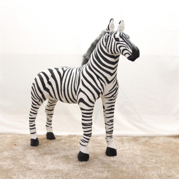 large 110x90cm simulation zebra plush toy can be rided, birthday gift Christmas gift w3890(China (Mainland))