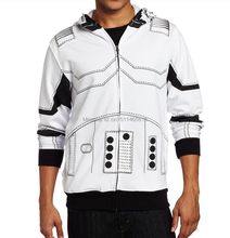 Hot Movie Star Wars I Am A Trooper Jacket Cosplay Costume Hoodies Free Shipping[14404]