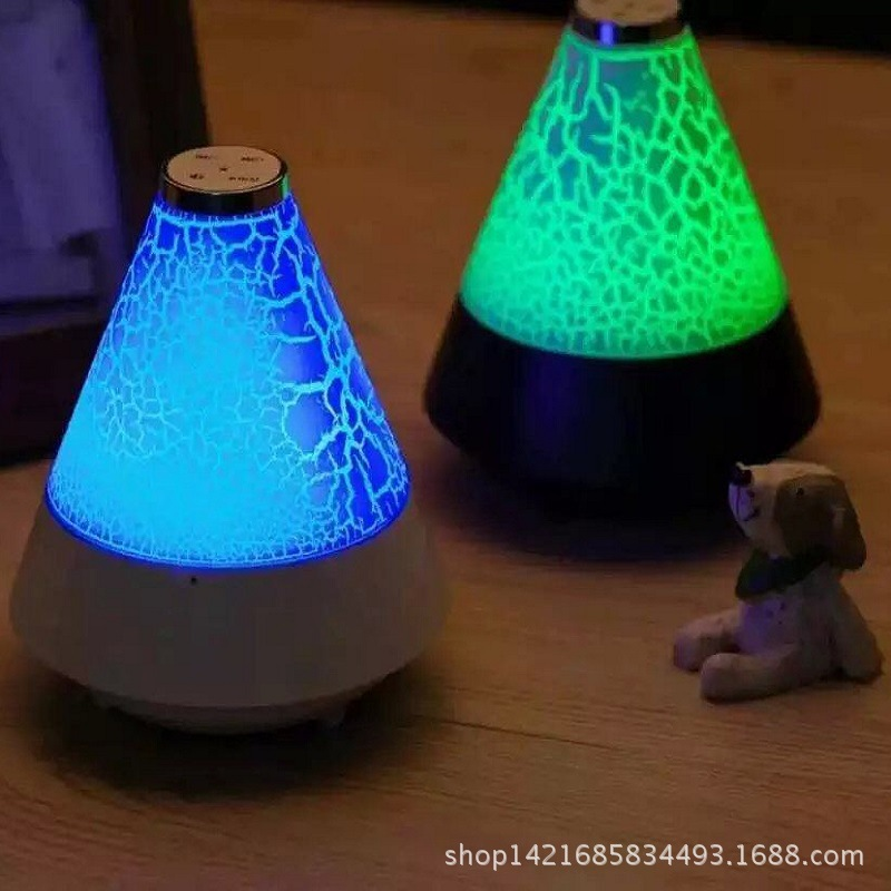 Wireless Bluetooth speaker LED night lamp creative emotional atmosphere lamp bedside scene private mode sound card(China (Mainland))