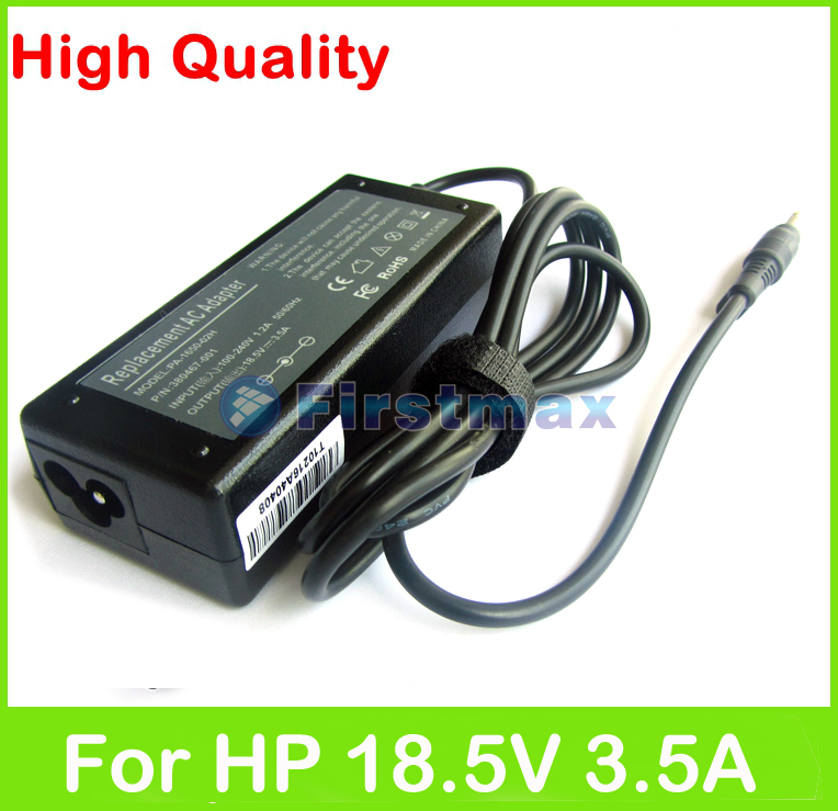 18.5V 3.5A 65W laptop AC power adapter for HP Special Edition L2000 Voodoo Envy 133 NV4000 charger(China (Mainland))