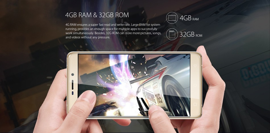 Original Smartphone Blackview R7 mobile phone FHD 4G LTE Android 6.0 Octa Core celular 4GB+32GB 1920*1080 13.0MP CAM 3000mAh